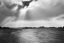 Dunkle Wolken über Banter See in Wilhelmshaven von sven-fuchs-fotografie