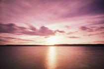 Sonnenuntergang über dem Bodensee by sven-fuchs-fotografie