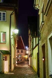 Überlinger Altstadt zur Blauen Stunde by sven-fuchs-fotografie
