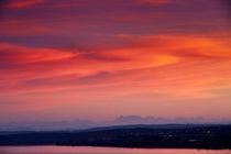 Sonnenuntergang über dem Bodensee von sven-fuchs-fotografie