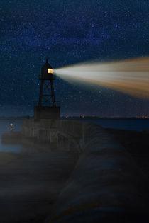 Quermarkenfeuer Mole Wilhelmshaven by sven-fuchs-fotografie