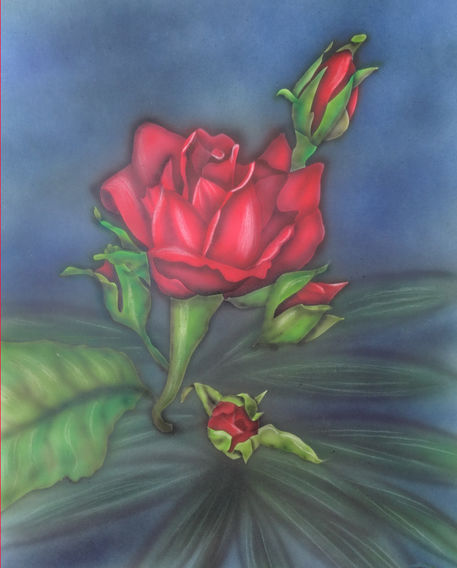 Rose-airbrush-colorair-fineart