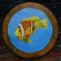 Fisch im Bullauge von Harry Heffels