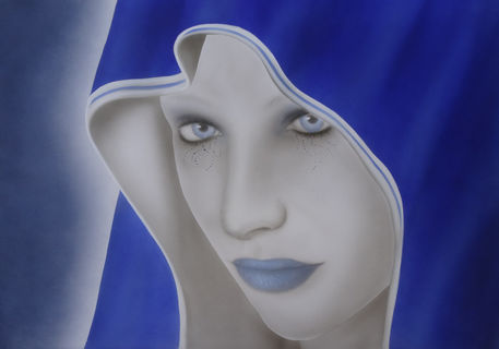 Lady-in-blue-airbrush-fantasy-colorair-airbrush