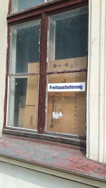 Freihauslieferung - free home delivery by geschichtenmacherin