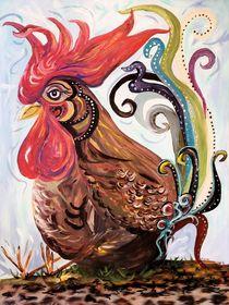 Funky Chicken by eloiseart