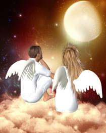 Engelpaar von Conny Dambach