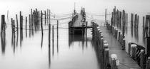 Segelhafen im Winterschlaf von Bodo Balzer