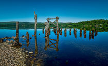The Old Jetty, Loch Awe. von Colin Metcalf