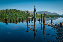 The Old Jetty, Loch Awe. by Colin Metcalf