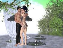 Engel Paar  von Conny Dambach
