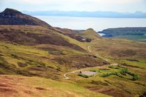 Quiraing - Isle of Skye - Schottland by Ute Bauduin