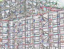 Die Zartheit der Großbaustelle by Hartmut Binder