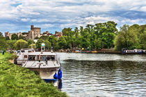 Over The Thames To Windsor by Ian Lewis