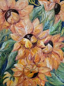 Sunflower Blitz von eloiseart