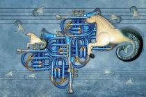 Die blaue Trompete von garrulus-glandarius