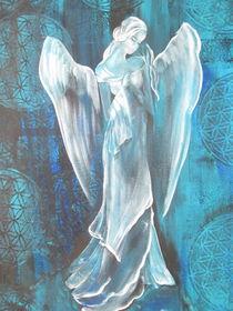 Göttin die aus ihrem Mitgefühl die Liebe verschenkt von Heike Bender