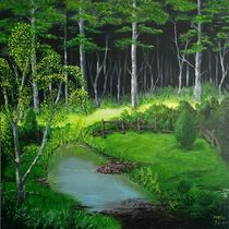 Am Waldrand by Sharon Melodie Emmrich