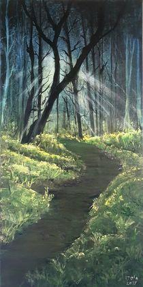 Waldweg by Sharon Melodie Emmrich