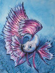 Kampffisch von Sharon Melodie Emmrich