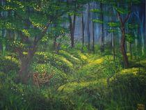 der alte Radweg von Sharon Melodie Emmrich