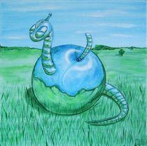 Spaceworm von Sharon Melodie Emmrich