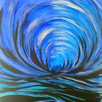 blaue Tiefe by Sharon Melodie Emmrich