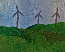 Landscape with wind generators by giart1