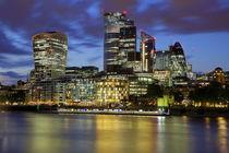 Financial District London by Patrick Lohmüller