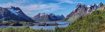Panorama Sildpollneset auf den Lofoten von Christoph  Ebeling