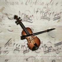 The Violin von Peter Hebgen
