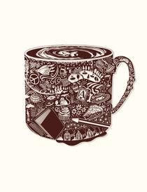 Coolest Hot Coffee -  Beautiful Dark Brown! von Lisa Rotenberg