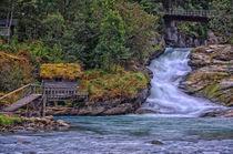 Stadheimfossen Wasserfall von Iris Heuer