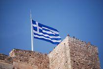 griechische Flagge... by loewenherz-artwork