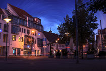Laupheim by night von Michael Naegele