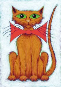 Ginger cat by Keith Mills