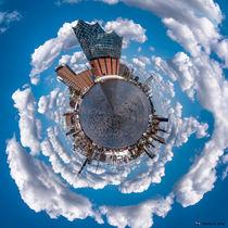 My little Planet Hamburg von Sandro S. Selig
