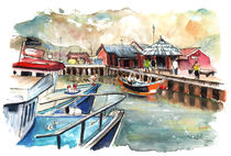 Whitby Harbour 03 by Miki de Goodaboom