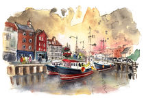 Whitby Harbour 02 by Miki de Goodaboom
