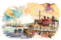 Whitby Harbour 01 by Miki de Goodaboom