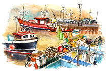 Whitby Harbour 04 by Miki de Goodaboom