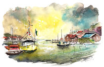 Whitby Harbour 05 by Miki de Goodaboom