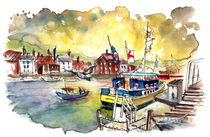 Whitby Harbour 06 by Miki de Goodaboom