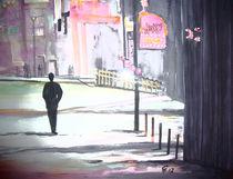 Mann in der Stadt von Christine  Hamm
