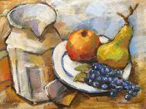Obst und Krug nicht Cezanne von alfons niex