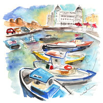 Boats In Siracusa 02 by Miki de Goodaboom