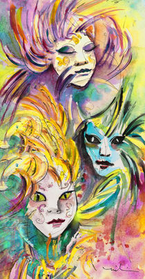 Carnivale in Taormina 01 von Miki de Goodaboom