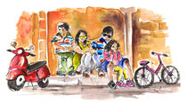 Family Life In Noto by Miki de Goodaboom