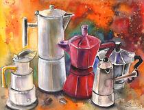 Italian Coffee Party von Miki de Goodaboom