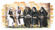 Nuns In Noto by Miki de Goodaboom